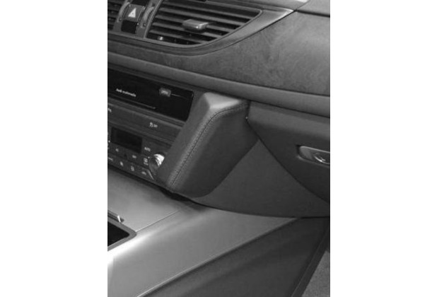 Kuda Lederkonsole für Audi A6 (2011-) / A7 (2010-) Kunstleder schwarz