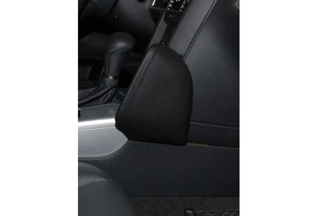 Kuda Lederkonsole für Audi A6 ab 05/04 Echtleder <blau> (33151)