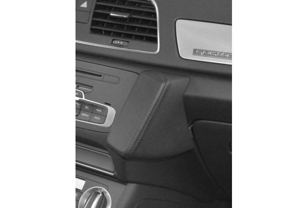 Kuda Lederkonsole für Audi Q3 ab 10/2011 Mobilia / Kunstleder schwarz