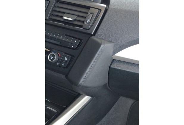 Kuda Lederkonsole für BMW 1er (F20) ab 10/2011 / 2er F22 Mobilia / Kunstleder schwarz