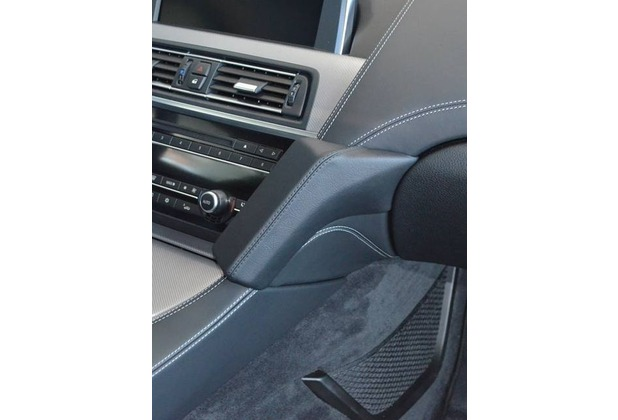 Kuda Lederkonsole für BMW 6er (F12/F13) ab 03/2011 Mobilia / Kunstleder schwarz