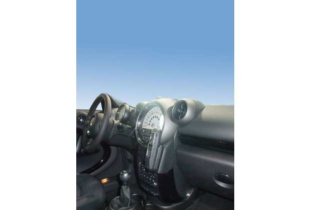 Kuda Lederkonsole für BMW Mini Countryman ab 09/2010 Mobilia / Kunstleder schwarz