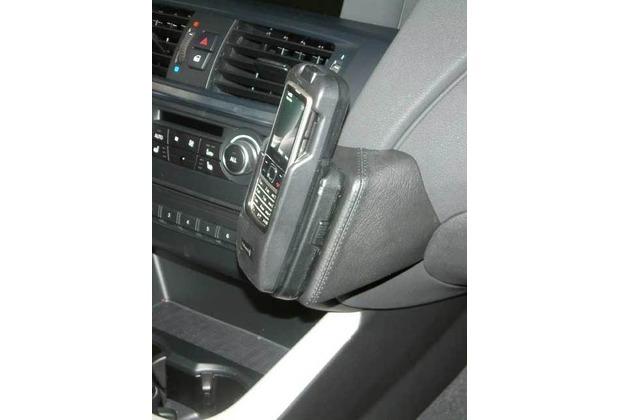 Kuda Lederkonsole für BMW X3 ab 11/2010 / X4 2014 Echtleder schwarz