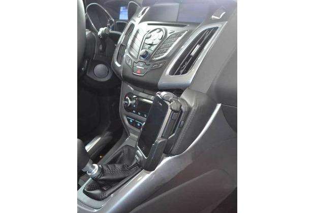 Kuda Lederkonsole für Ford Focus ab 03/2011 & ab 2014 Mobilia / Kunstleder schwarz