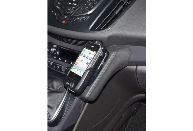 Kuda Lederkonsole für Ford Kuga ab 2013 Echtleder schwarz