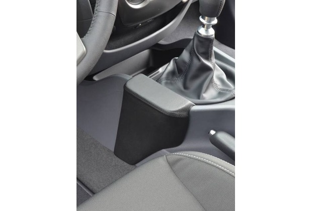 Kuda Lederkonsole für Ford Ranger ab 03/2012 Echtleder schwarz