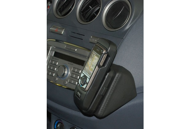 Kuda Lederkonsole für Ford Transit Connect 2009 Mobilia / Kunstleder schwarz