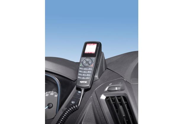 Kuda Lederkonsole für Ford Transit Custom ab 2012 Konsole oben Kunstleder schwarz