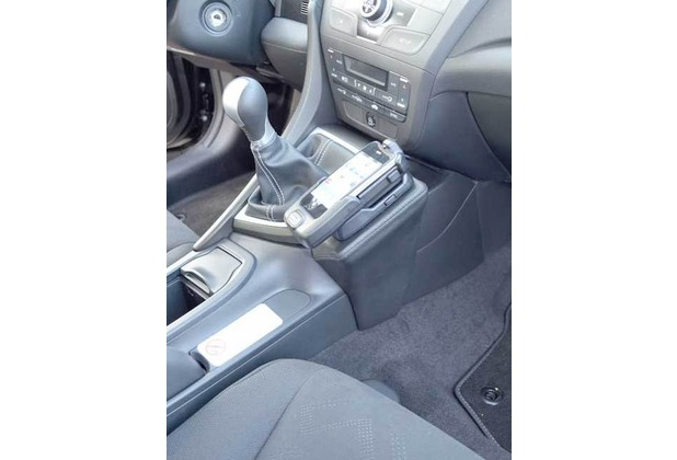 Kuda Lederkonsole für Honda Civic ab 02/2012 Echtleder schwarz