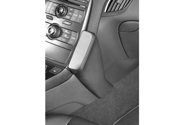 Kuda Lederkonsole für Hyundai Genesis Coupe ab 10/2010 Mobilia/ Kunstleder schwarz
