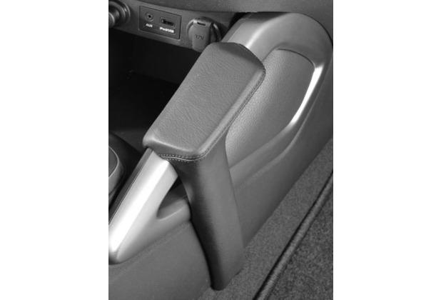 Kuda Lederkonsole für Hyundai Veloster ab 10/2011 Echtleder schwarz