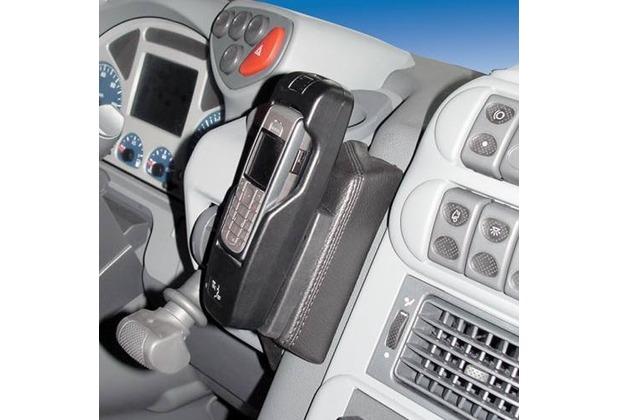 Kuda Lederkonsole für Iveco Euro Cargo ab 06/03- 08/08 Mobilia-Kunstleder schwarz