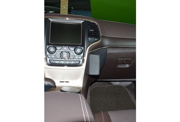 Kuda Lederkonsole für Jeep Grand Cherokee ab 06/2013 Kunstleder schwarz