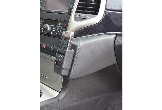 Kuda Lederkonsole für Jeep Grand Cherokee ab 2010 bis 2013 Echtleder schwarz