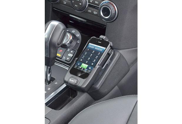 Kuda Lederkonsole für Land Rover Discovery 4 ab 2010 Mobilia / Kunstleder schwarz