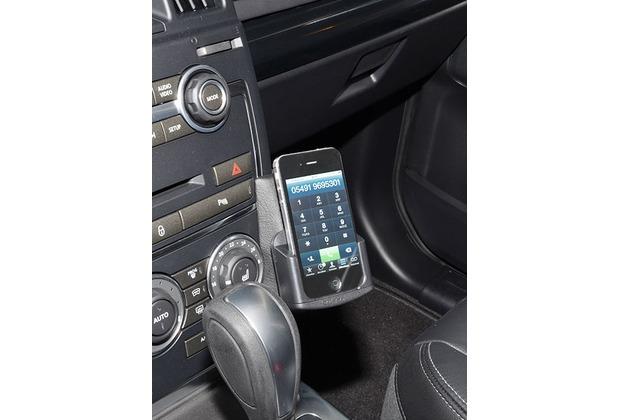 Kuda Lederkonsole für Land Rover Freelander ab 2010 Kunstleder schwarz