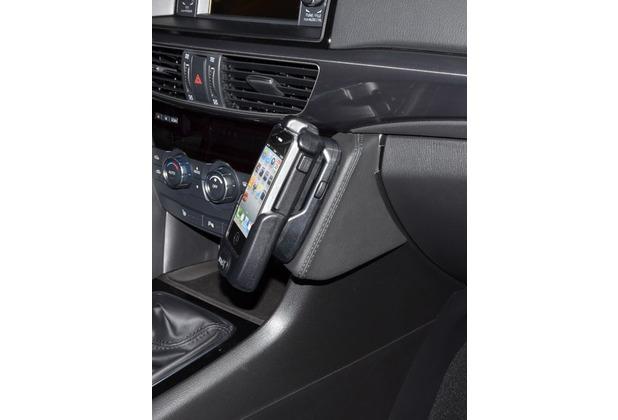 Kuda Lederkonsole für Mazda 6 ab 03/2012 Mobilia / Kunstleder schwarz