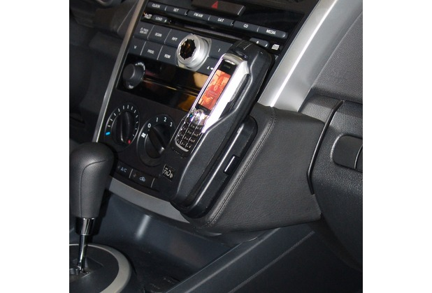 Kuda Lederkonsole für Mazda CX-7 ab 2007 (USA) Mobilia / Kunstleder schwarz