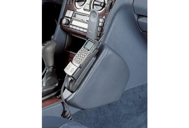 Kuda Lederkonsole für MB C-Klasse/W202 93-5/00+T-Modell -03/01 Echtleder <dunkelbraun> (9074)