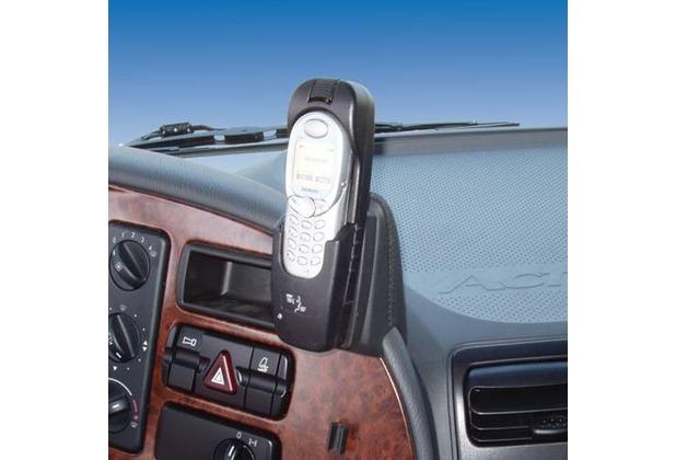 Kuda Lederkonsole für Mercedes-Benz Actros ab 03/03 Mobilia-Kunstleder schwarz