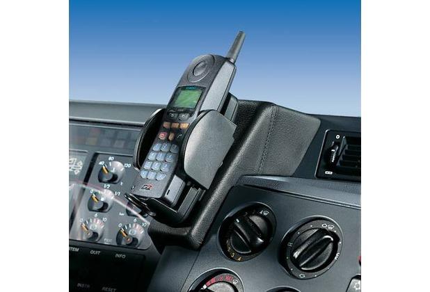 Kuda Lederkonsole für Mercedes-Benz Actros ab 96 bis 08/02 Mobilia / Kunstleder schwarz