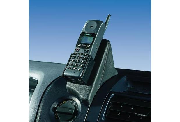 Kuda Lederkonsole für Mercedes-Benz Atego/ Axor bis 08/04 Mobilia / Kunstleder schwarz