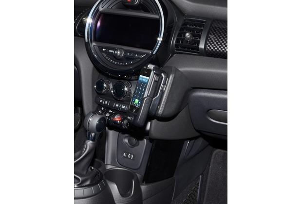 Kuda Lederkonsole für Mini ab 2014 (F55/ F56) Echtleder schwarz