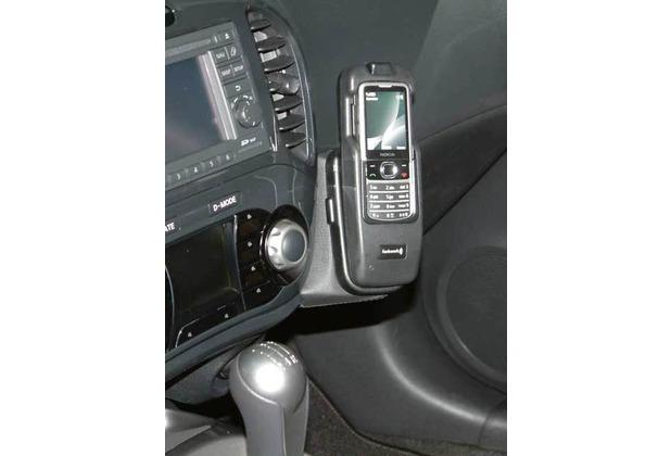 Kuda Lederkonsole für Nissan Juke ab 10.2010 Mobilia / Kunstleder schwarz