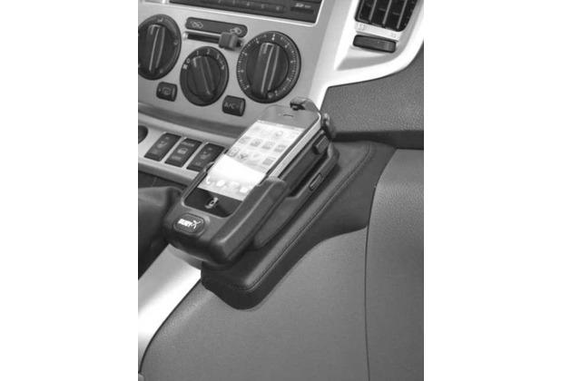 Kuda Lederkonsole für Nissan NV 200 ab 07/2009 Mobilia / Kunstleder schwarz