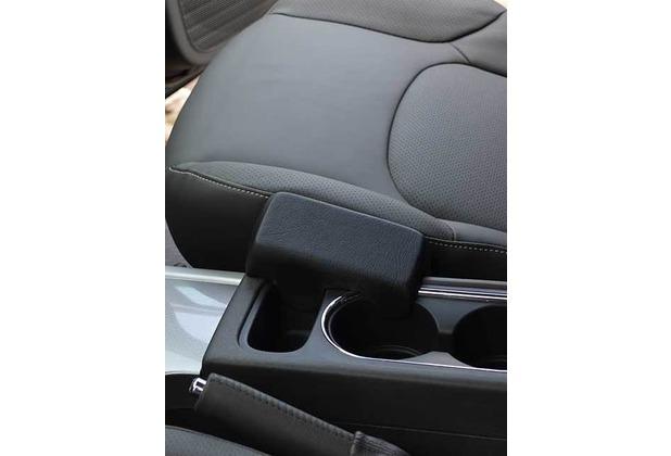 Kuda Lederkonsole für Nissan Pathfinder ab 2007 / Navara Mobilia / Kunstleder schwarz