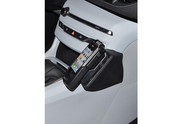 Kuda Lederkonsole für Peugeot 308 ab 2013 Kunstleder schwarz