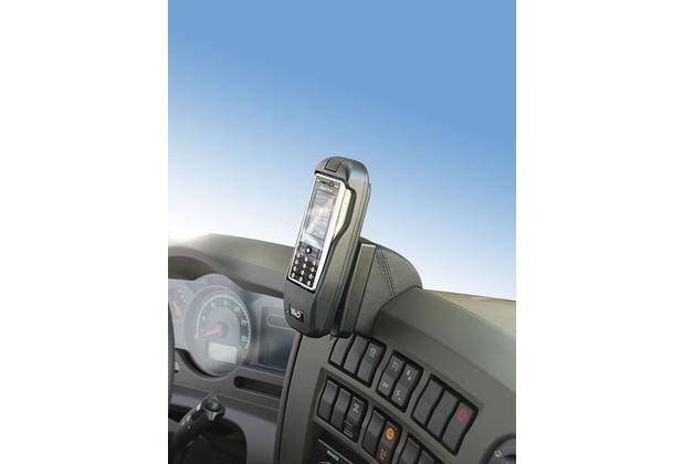Kuda Lederkonsole für Renault Midlum, Premium + Route 2005- Kunstleder schwarz