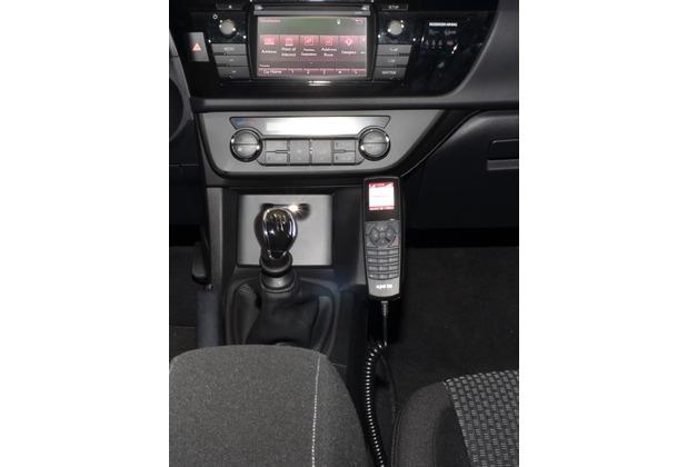 Kuda Lederkonsole für Toyota Corolla ab 2013 (E170) Kunstleder schwarz