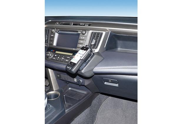 Kuda Lederkonsole für Toyota Rav4 ab 04/2013 Kunstleder schwarz