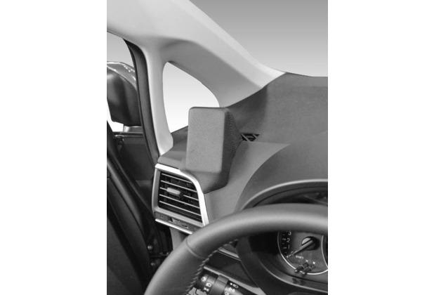 Kuda Lederkonsole für Toyota Verso S ab 03/2011 Mobilia / Kunstleder schwarz