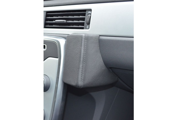 Kuda Lederkonsole für Volvo V70 Facelift ab 06/2011 Echtleder schwarz