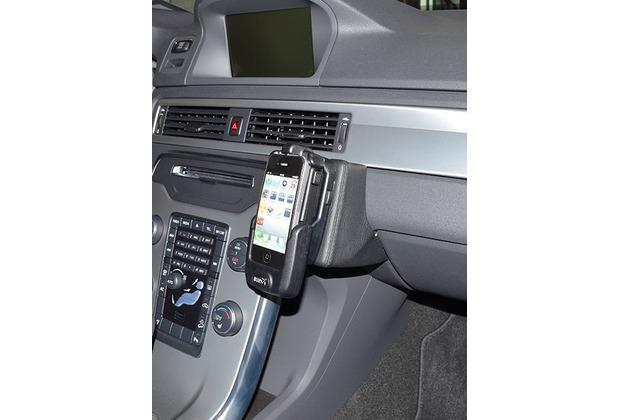 Kuda Lederkonsole für Volvo XC70/V70/S80 ab 09/2011 Echtleder schwarz
