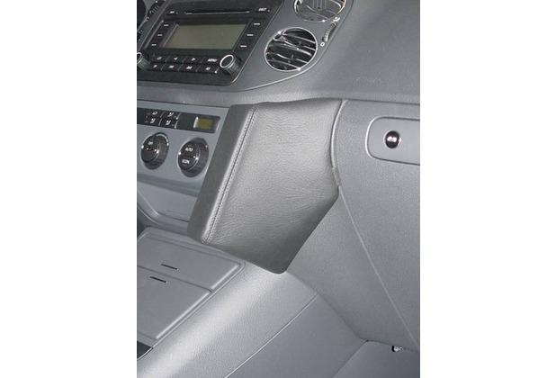 Kuda Lederkonsole für VW Golf Plus ab 01/05 Mobilia / Kunstleder schwarz