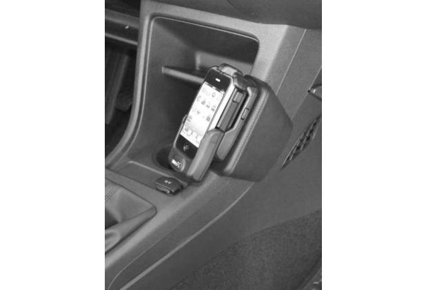 Kuda Lederkonsole für VW UP ab 11/2011/ Seat Mii/ Skoda Citigo Echtleder schwarz