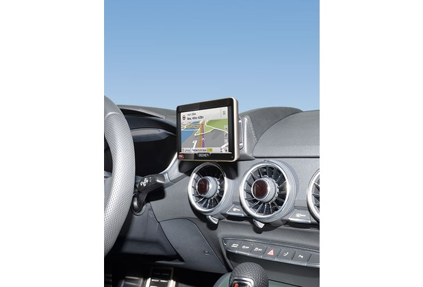 Kuda Navigationskonsole für Audi TT ab 2014 Navi Kunstleder schwarz