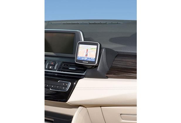 Kuda Navigationskonsole für BMW 2er Active Tourer (F45) ab 2015 Navi Kunstleder schwarz