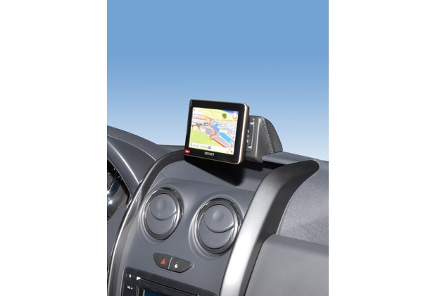 Kuda Navigationskonsole für Dacia Duster ab 09/2013 Navi Kunstleder schwarz