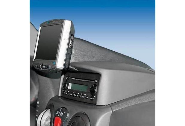 Kuda Navigationskonsole für Fiat Doblo ab 03/01 & ab 10/05 Kunstleder