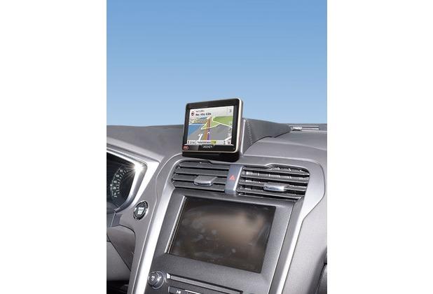 Kuda Navigationskonsole für Ford Mondeo ab 2014 Navi Kunstleder schwarz