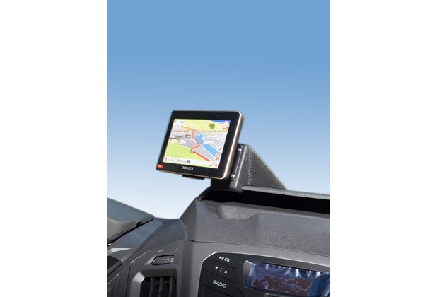 Kuda Navigationskonsole für Ford Transit Custom ab 2012 ohne Display Navi Kunstleder schwarz