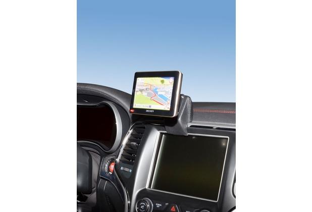 Kuda Navigationskonsole für Jeep Grand Cherokee ab 06/2013 Navi Kunstleder schwarz