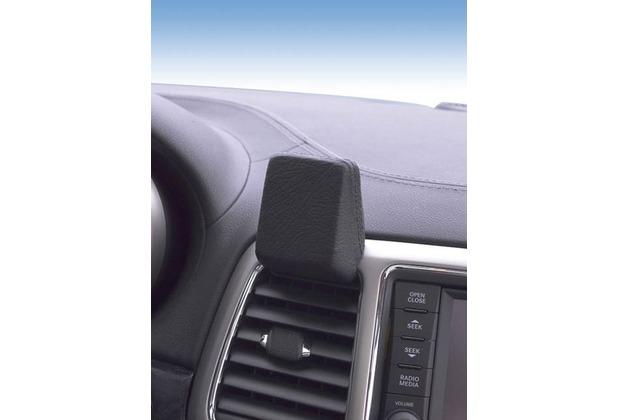 Kuda Navigationskonsole für Jeep Grand Cherokee ab 2010 bis 2013 Mobilia / Kunstleder schwarz