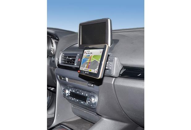 Kuda Navigationskonsole für Mazda 3 ab 2013 (Typ BM) Navi Kunstleder schwarz
