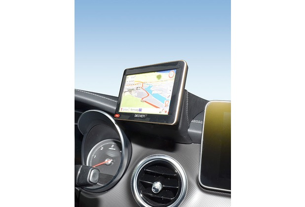 Kuda Navigationskonsole für Mercedes V-Klasse ab 2014 W4478 Navi Echtleder schwarz