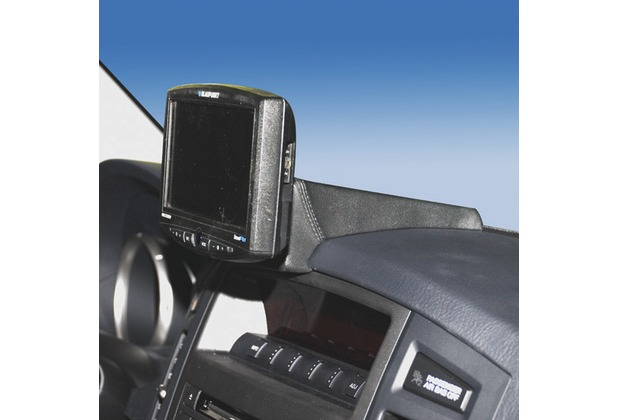 Kuda Navigationskonsole für Mitsubishi Pajero ab 11/06 Kunstleder